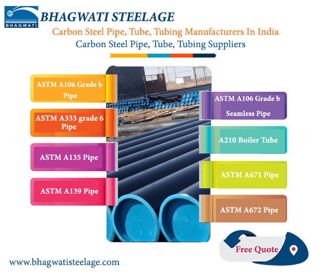 ASTM A333 Pipe, ASME SA333 Pipe Manufacturers In India