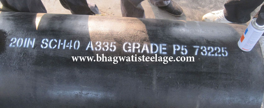 ASTM A335 P5 Pipe Suppliers, ASME SA335 P5 Alloy Steel Pipe Manufacturers in india