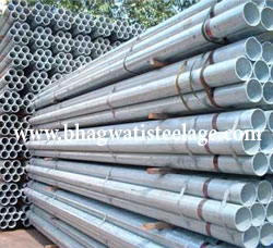 Pre Galvanized Steel Pipes Renowend Supplier in India